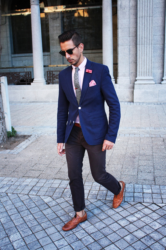 #Fancy Friday in black & blue with red all over – what my ...