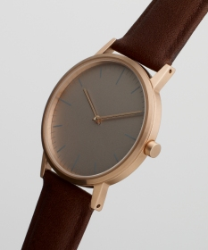 152 Series - Rose gold and Walnut - side