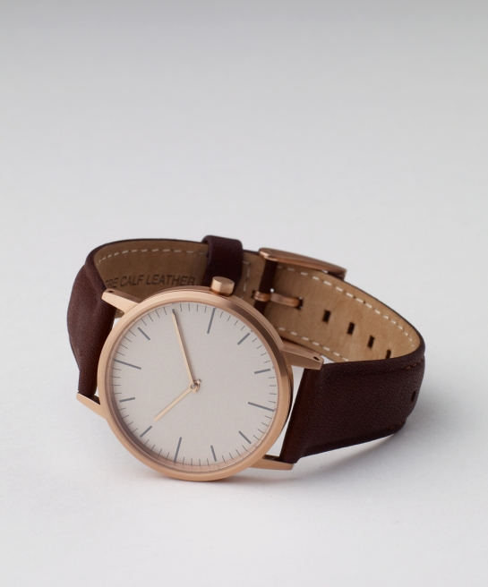 152 Series - Rose gold and Walnut