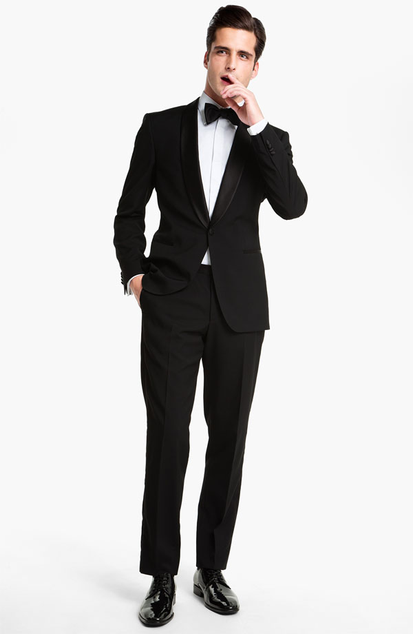 sartorial sundays in black tie what my boyfriend wore. Black Bedroom Furniture Sets. Home Design Ideas