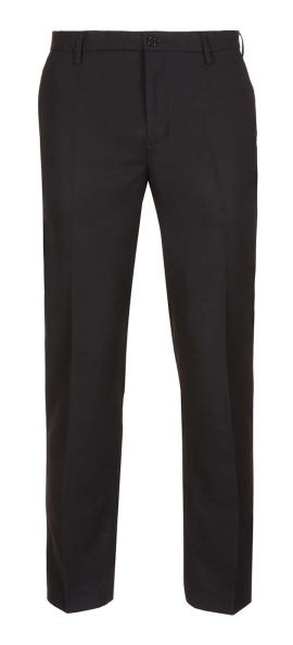 BLACK FLANNEL SKINNY PANTS