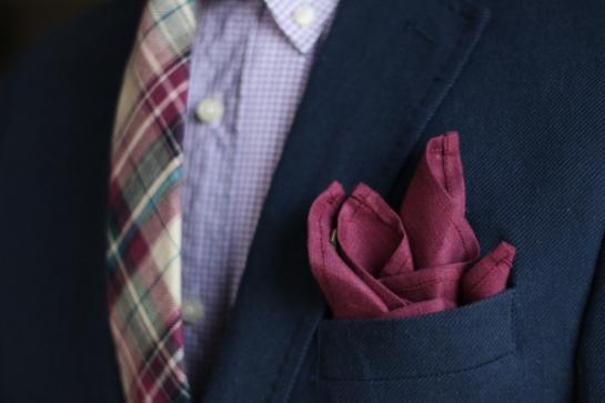 burgundy-pocket-square