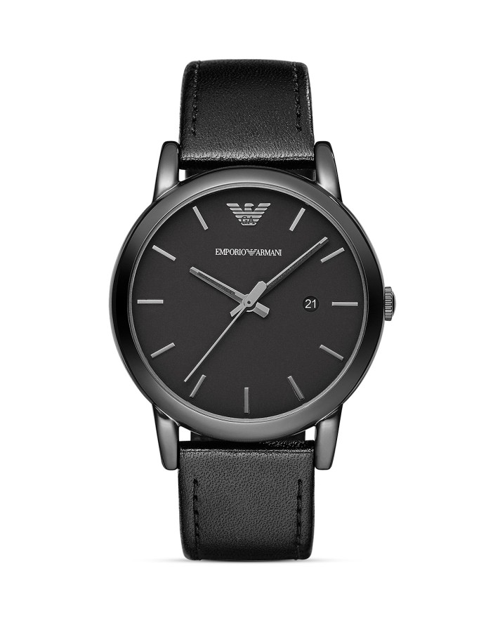 Emporio Armani Luigi Black Watch, 41mm