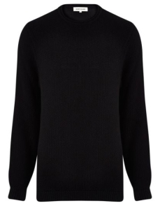 textured-black-sweater