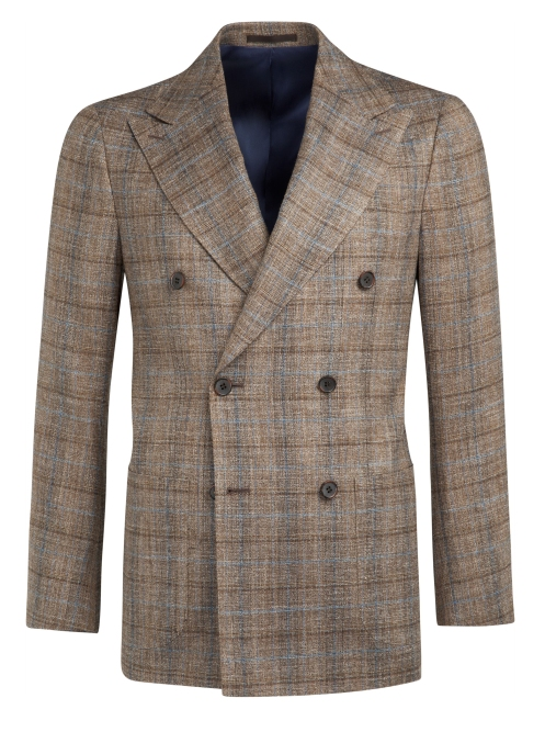 Jackets_Light_Brown_Check_Madison_C837_Suitsupply_Online_Store_5