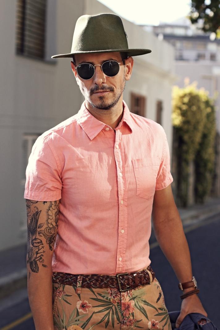 The Old Khaki Shirt Challenge – what my boyfriend wore