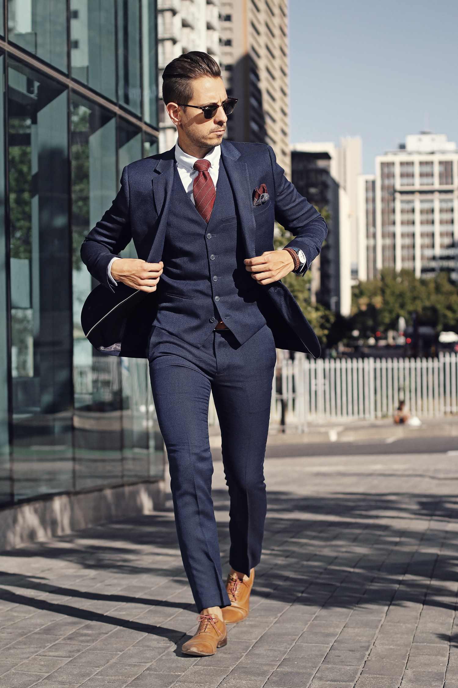 Men New Suit Blazer Jacket Personality Printed Slim Fit Homme Fashion Wedding Party Stage Costumes Best Man Dress Blazer Demand Exceeding Supply Men's Clothing